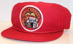 Dodge Ram Charger Vintage American Muscle Mopar Red Cord Baseball Snapback Hat #RedRiverCo #BaseballCap