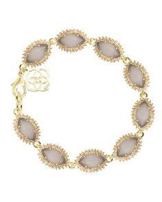Jana Bracelet in Slate - Kendra Scott Jewelry $80