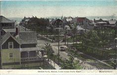 Ocean Park From Ocean Park Hotel Maine 1934