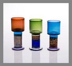 Three goblets by Kaj Franck