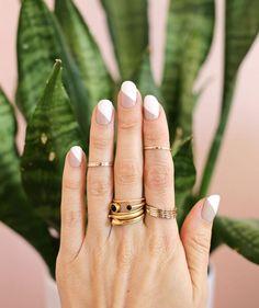 15 Opciones para una manicura minimalista de lujo