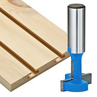 Router bit for T-Slots.