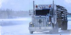 pictures of truckers on ice road truckers - Google Search