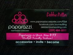1000 images about Paparazzi Accessoroes Business cards