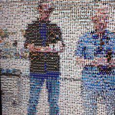 John, Barbara & Roger at MOPA #MOPA #Museum of Photographic Arts  #San Diego #SELF/Reflection Interactive Installation, Human Connection, Spiderman, Reflection, Museum, Superhero, Instagram Posts, Fictional Characters, Art