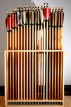 Traditional wood arrows 10 pieces - classic-bow.com