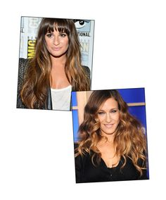 Ombre's cooler, French cousin: Balayage