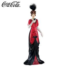 COCA-COLA A Taste Of Fashion All Its Own Figurine
