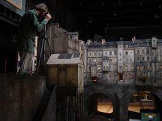 model mostu s domy do filmu Parfém - příběh vraha Film, Model, Fictional Characters, Movie, Movies, Film Stock, Film Movie, Films
