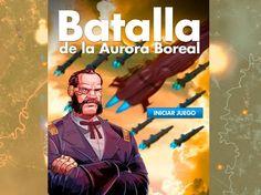 """Lima. Grau del Espacio se complace en presentar """"Batalla de la Aurora Boreal"""", videojuego desarrollado para web y dispositivos móviles. Este lanzamiento se da con motivo a la publicación del nuevo capítulo de la novela gráfica."""