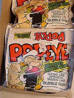 popeye bubble gum