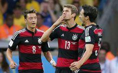 FIFA World Cup 2014: Brazil vs Germany, 1st Semifinal