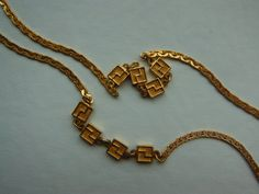 1980s D'Orlan Gold Tone Serpentine Chain Necklace by WhimsicalFig on Etsy
