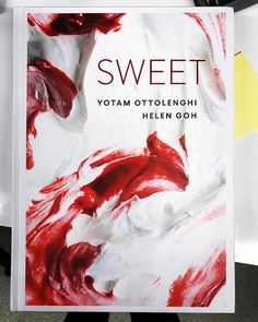 So happy! Finally, a few actual copies of Sweet on my desk. Two years of long sugary feasts... Preorder signed copied on Ottolenghi website.