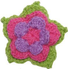 Cómo tejer una flor de loto a crochet