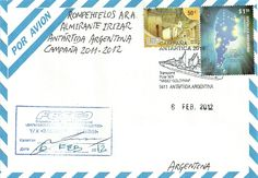 PostCrossing and Stamp: CAMPAÑAS ANTARTICAS
