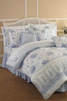 Rebecca Comforter set by Laura Ashley. so pretty!