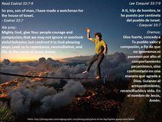 A spiritual balancing act + Un ejercicio de equilibrio espiritual  https://www.biblegateway.com/passage/?search=ezek+33%3A7-9