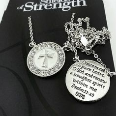 Shields of Strength - necklace