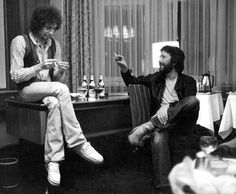 Bob Dylan and Eric Clapton - 1976