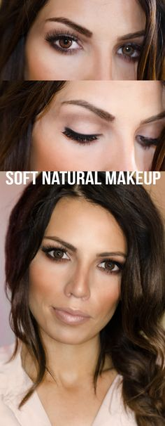 Soft Neutral Makeup Tutorial- best makeup tutorial I've seen in a long time!
