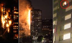 Huge inferno at West London tower block