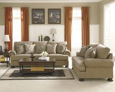 Keereel - Sand Stationary Living Room Group by Signature Design by Ashley