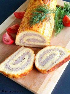 Кулинарные моменты: Яично-мясной рулет