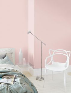 Find Crown Breatheasy Creme de la Rose - Matt Standard Emulsion Paint - at Homebase. Visit your local store for the widest range of paint & decorating products. Pink Gray Bedroom, Pink Bedrooms, Girls Bedroom, Master Bedroom, Pink Room, Interior Rugs, Interior Design, Garage Interior, Pink Paint Colors