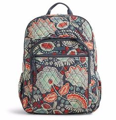 Campus Backpack Review Vera Bradley Nomadic Floral a66fcd85227fb