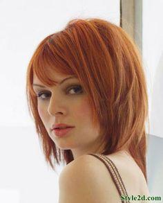 Trendy hairstyles for short hair women Fantastic Blunt Bob Cut