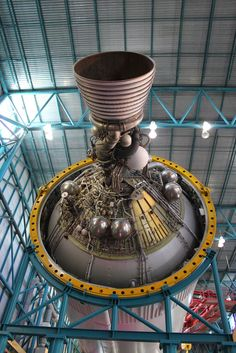 S-IVB J-2 engine that powered Apollo to Earth orbit & trans-lunar injection