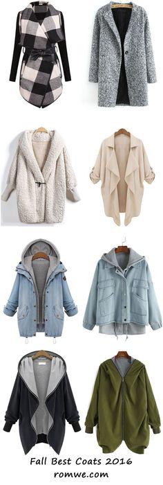 Warm Fall & Winter - best coats from romwe.com