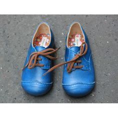 Victor Victorine blue shoes
