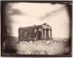 Temple of Baalshaman, Palmyra, Syria, Louis Vignes, 1864