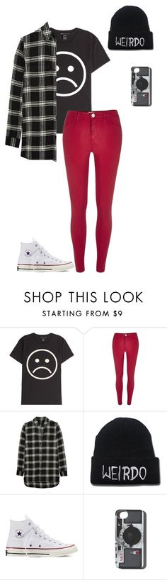 """""""Untitled #606"""" by breemanor on Polyvore featuring Marc by Marc Jacobs, River Island, Madewell, Converse, Abercrombie & Fitch, women's clothing, women, female, woman and misses"""
