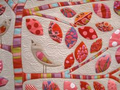 Bold colour and great quilting