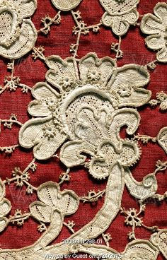 Chasuble, detail. Venice, Italy, late 17th century