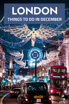 Heading to London in winter and not sure what you can do? Here are the best winter activities in London when it's cold and rainy >>> London Winter, London Christmas, Christmas Travel, Holiday Travel, Vintage Christmas, European Destination, European Travel, Backpacking Europe, Travel Outfit Spring
