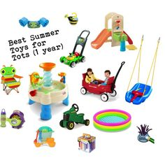 Best Summer Toys for Tots Toddlers (12 months - 16 months)