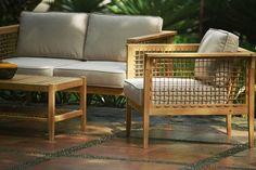 Lousiana sofa in teak. Designed by Kristiyanto. Contact: ignkrist@gmail.com
