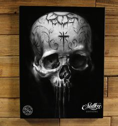 Google Image Result for http://www.sullenclothing.com/StainedSkull_18x24_Giclee.jpg