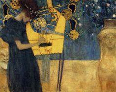 Gustav Klimt - Music I, 1895