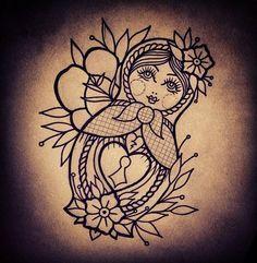 russian doll tattoo - Google-haku