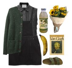 Just quit art school by mywayoflife on Polyvore featuring polyvore, fashion, style, Monki, Band of Outsiders and Birkenstock