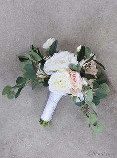 Silk flower wedding bouquet make your own bridal bouquet with fake silk flower wedding bouquet make your own bridal bouquet with fake flowers from afloral mightylinksfo