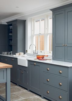 Limestone Floor - Shaker Brochure   deVOL Kitchens and Interiors