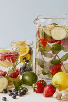 Fresh Ideas For Making Infused Water | Fruit and Herb Infused Water