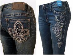 Montana West Sz 15 JN-TR014 Stretchy Denim Trinity Ranch Jeans NWT Retail $99.99 #MontanaWest #BootCut
