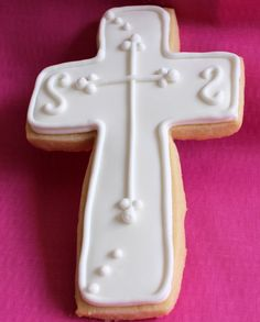 Cross Cookies | Royal Icing Diaries